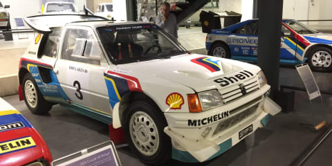 Peugeot Museum Tour in Sochaux, France