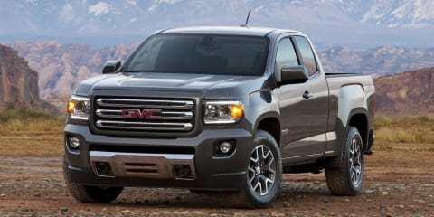 GMC Canyon : Colorado-based mid-size pick-up revealed