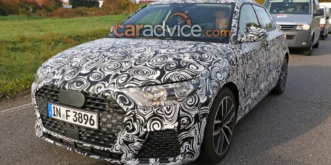 2018 Audi A1 spied