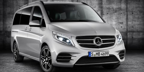 Mercedes-Benz V-Class AMG Line revealed