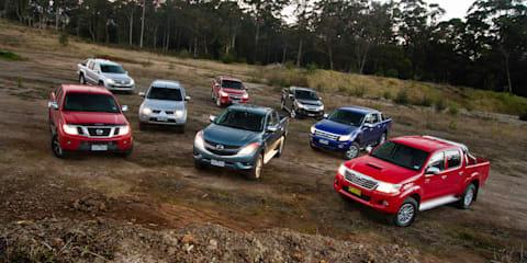 Ute comparison: Toyota HiLux v Ford Ranger v Volkswagen Amarok v Holden Colorado v Isuzu D-MAX v Nissan Navara v Mazda BT-50 v Mitsubishi Triton