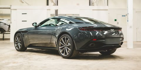 Aston Martin DB11 pair gets worked over by Q