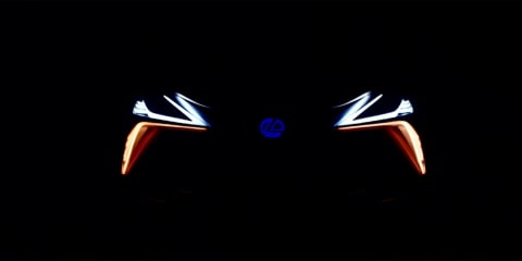 Lexus LF-1 Limitless front end previewed