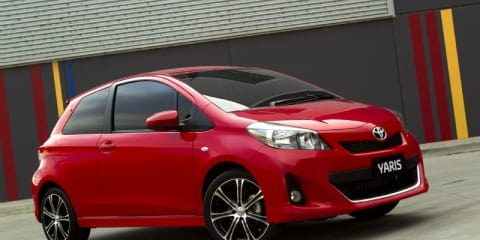 2011 Toyota Yaris at Australian International Motor Show 2011