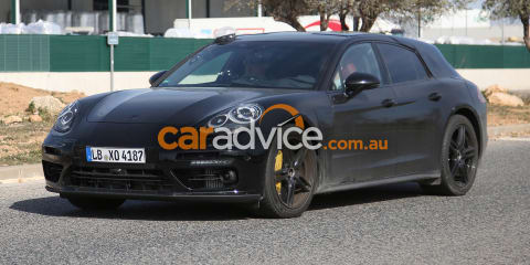 2017 Porsche Panamera wagon and interior spied