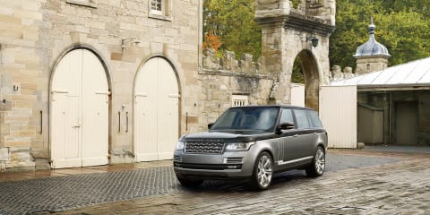 Land Rover hits out at the new uber-luxury SUV crowd