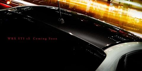 Subaru WRX STI tS teaser image released