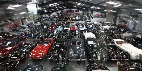 Jaguar purchases 543 classic cars from dentist James Hull