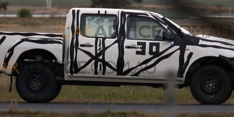 2012 Ford Ranger T6 advanced prototype spied