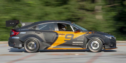 Honda Civic: Clemson students develop 600hp rallycross hatch