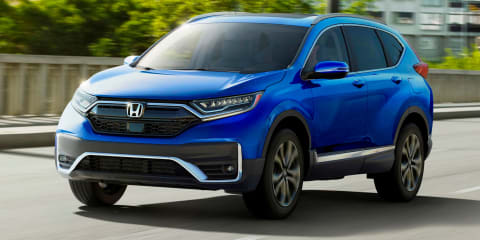 2020 Honda CR-V facelift revealed in the US