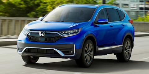2020 Honda CR-V facelift revealed in the US