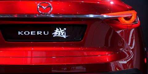 Mazda Koeru Concept Walkaround : 2015 Frankfurt Motor Show
