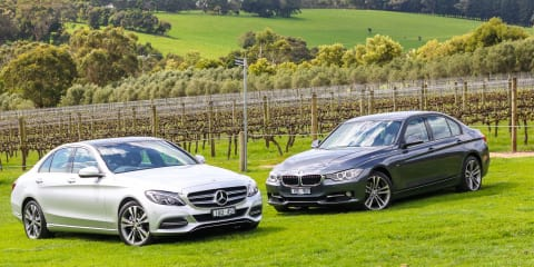 Mercedes-Benz C200 v BMW 320i : Comparison review