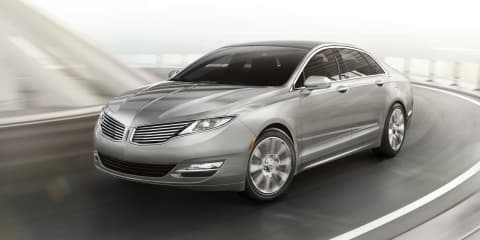 Lincoln MKZ: Ford luxury brand's new mid-size sedan revealed