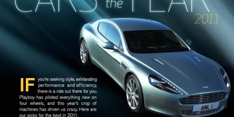 Playboy magazine's 2011 Cars of the Year
