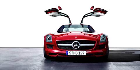 Mercedes-Benz SLS AMG Tunnel Experiment