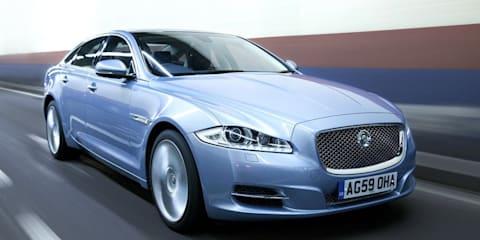 Jaguar XJ pulls ahead of German rivals in the UK