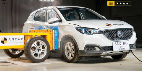 MG ZS gets four-star ANCAP rating