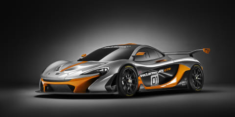 McLaren P1 GTR Design Concept revealed at Pebble Beach