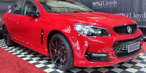Auction bids for 'last' Holden Commodore double in 24 hours to $255,000