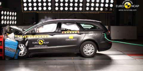 Five stars for Ford Mondeo, Toyota Prius V and Lexus NX in ANCAP crash tests