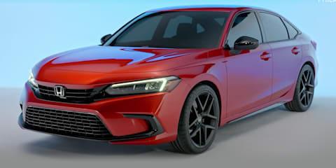 2022 Honda Civic sedan teased – UPDATE: leaked, just hours from debut