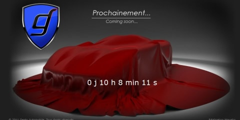 Genty Akylone supercar to be revealed tomorrow