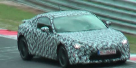 Subaru/Toyota FT-86 Testing Video