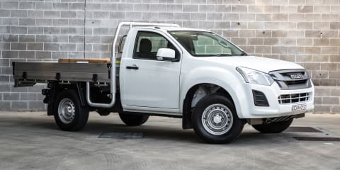 Isuzu D-Max 4x2 SX single cab review