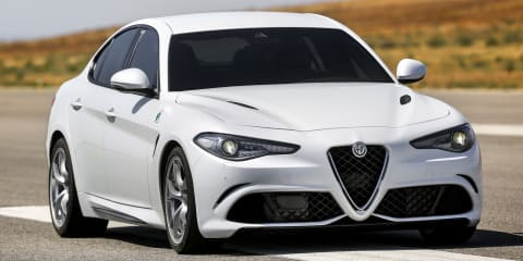 Alfa Romeo Giulia engine options listed in leaked document