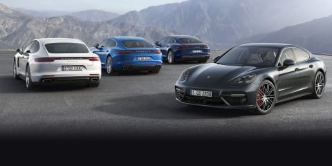 Porsche Panamera performance hybrid coming, four-cylinder ruled out