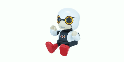Toyota Kirobo Mini:: cupholder-friendly companion robot launched in Japan
