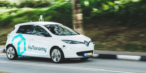 World's first public autonomous taxi trial begins in Singapore