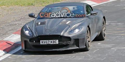 2019 Aston Martin DBS Superleggera spied