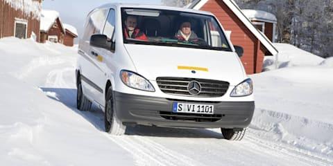 Mercedes-Benz Vito Electric passes minus 30 degree temperature test
