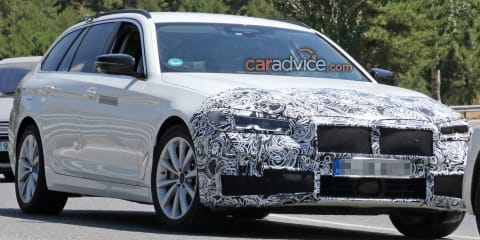2021 BMW 5 Series Touring spied