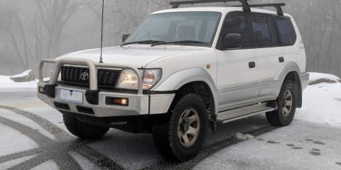 1999 Toyota Landcruiser Prado GXL (4x4) review