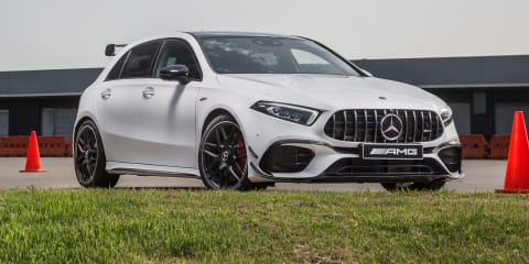 2021 Mercedes-AMG A45 S, CLA45 S gain option of semi-slick Pirelli Trofeo R tyres in Australia