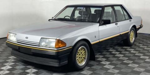 Last Ford Falcon ESP V8 with just 60km on the clock pulls $355,000 at auction