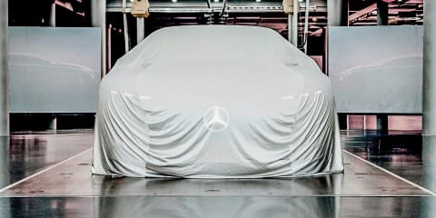 Mercedes-Benz EQ Concept teased
