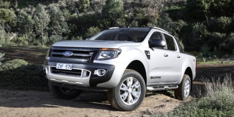 Ford Ranger outsells company's collective passenger line-up in October