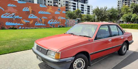 1983 Holden Camira SL/X review