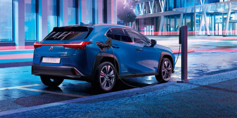 Lexus UX300e revealed with 400km of range