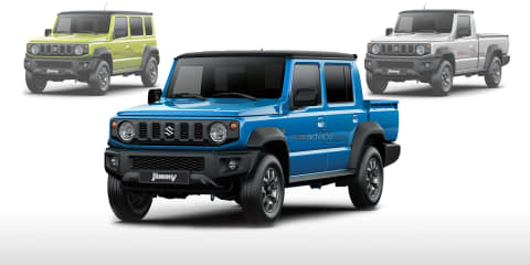Dream garage: Suzuki Jimny wagon and ute imagined