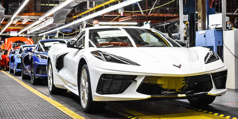 General Motors has just built its 1.75-millionth Corvette