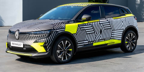 2022 Renault Megane E-Tech Electric small SUV – UPDATE: First images and tech specs revealed