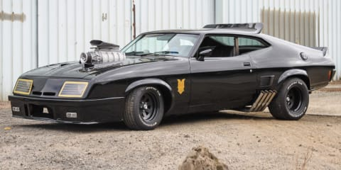 Mad Max Interceptor - sights and sounds from the build project