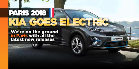 Kia e-Niro electric SUV revealed in Paris