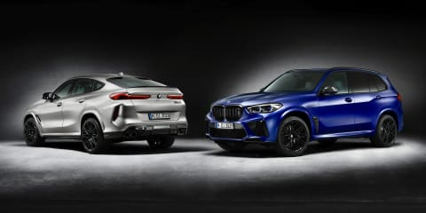 2021 BMW X5 M and X6 M Competition First Edition models confirmed locally